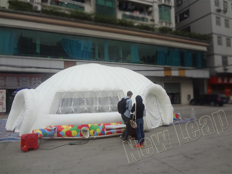 New design inflatable dome tent