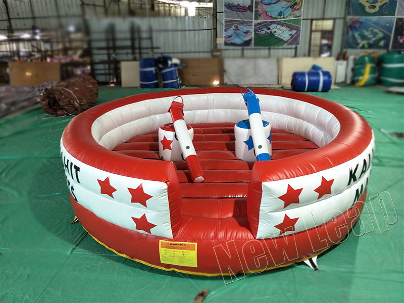 gladiator jousting game inflatable