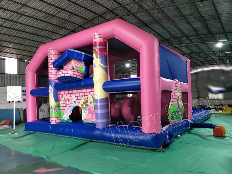 inflatable bounce house big with pool