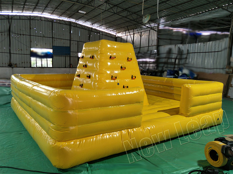 small inflatable climbing wall
