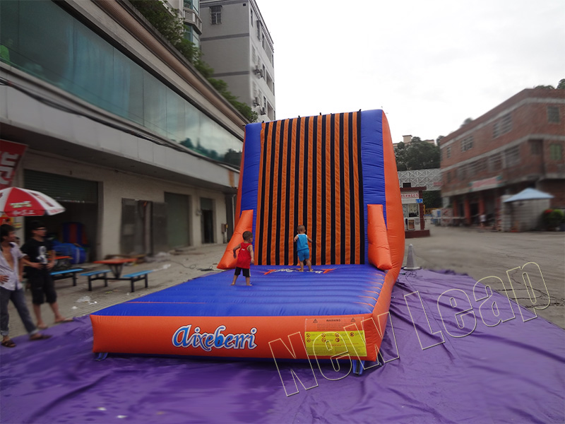 inflatable velcro wall sport game