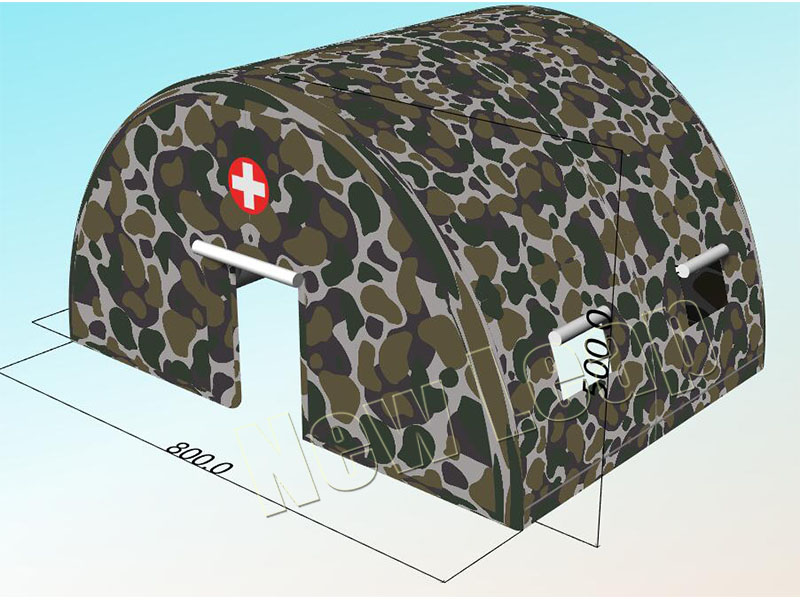 military emergency inflatable tent