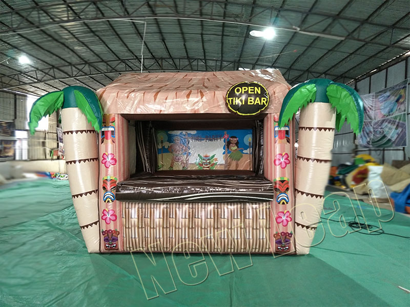 inflatable tiki bar for party