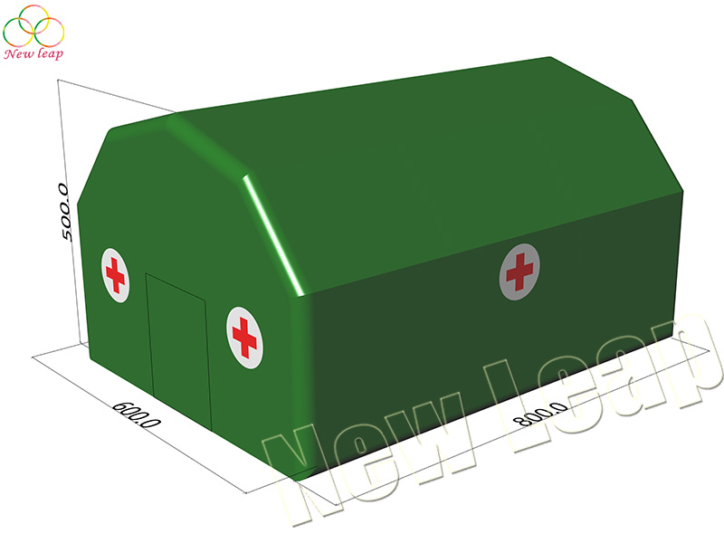 red cross inflatable tent