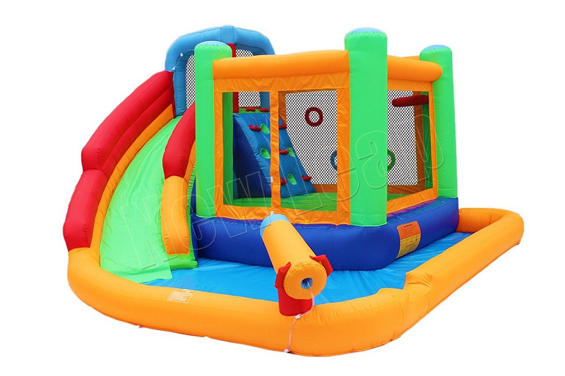 inflatable jumper bounce house and water slide