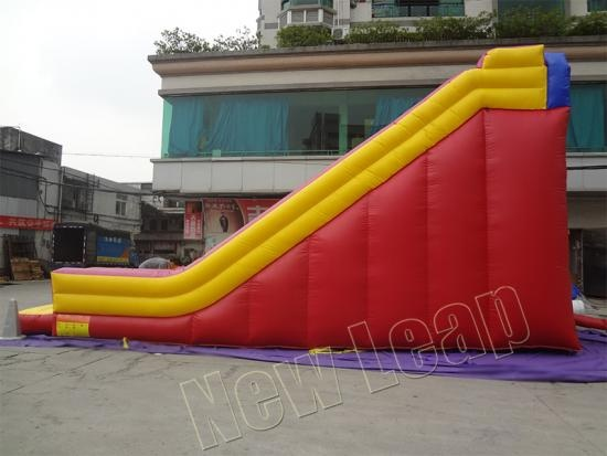 Custom inflatable slide