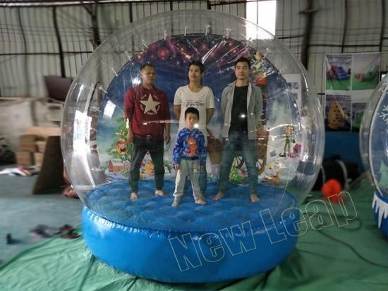 inflatable display ball