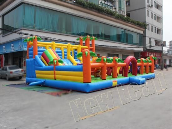 inflatable fun amusement park