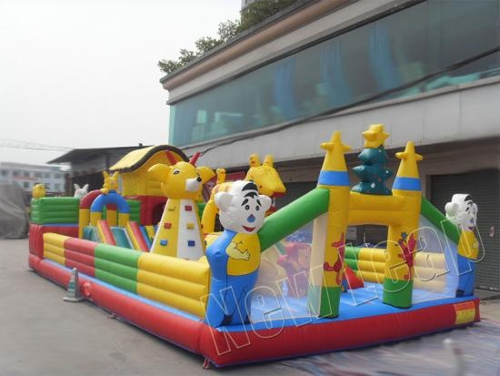 inflatable fun ciry for children
