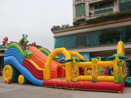 amusement inflatable fun park