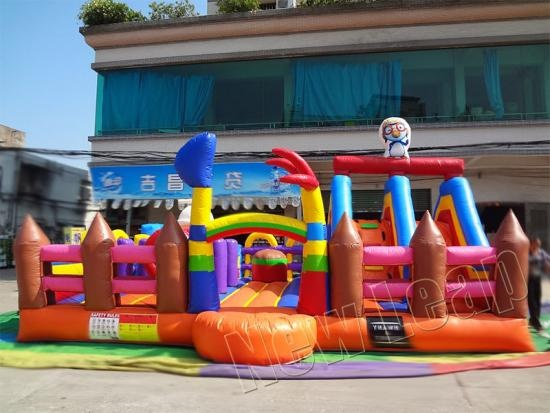 pororo amusement inflatable fun park