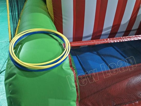 inflatable hula hoop ring game