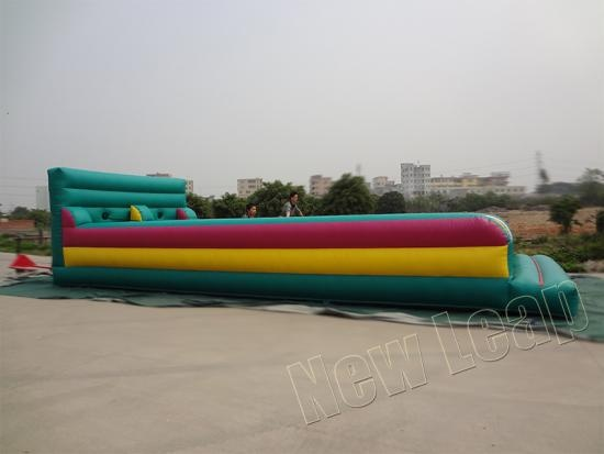 inflatable dual lane bungee run
