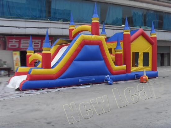 Inflatable air castle