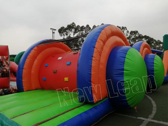 inflatable 5K course race