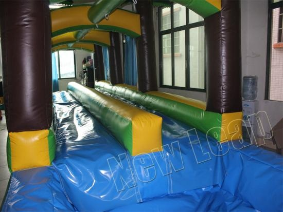 inflatable slip n slide water pool