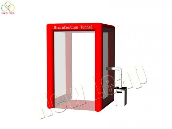 inflatable disinfection cabin