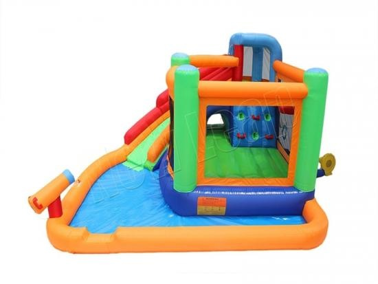 inflatable water slide climb bouncer