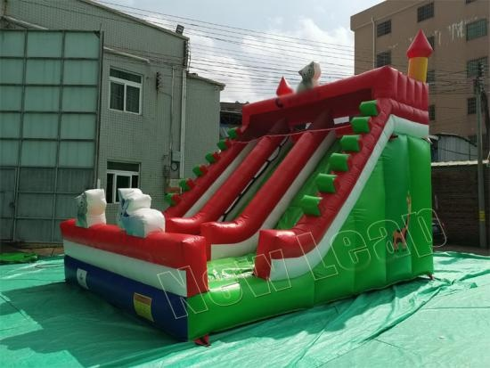 china inflatable dry slide